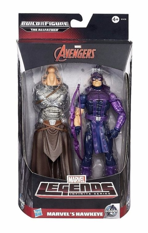 Marvel Legends Infinite Avengers Hawkeye Gavião Arqueiro