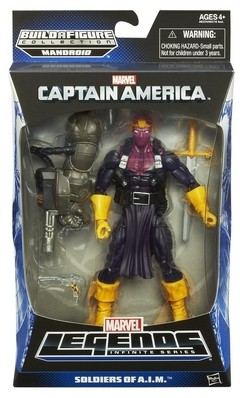 Marvel Legends Infinite Captain America Baron Zemo