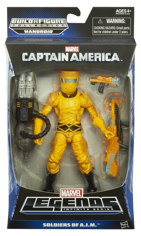 Marvel Legends Infinite Captain America Soldiers Of A.I.M.