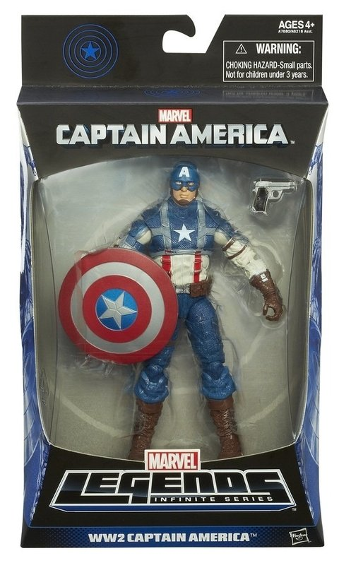 Marvel Legends Infinite Marvel Captain America WW2