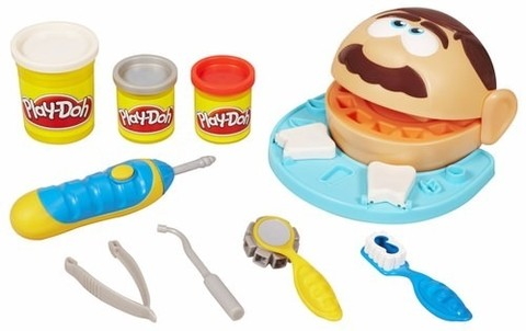 Massinha Play Doh Brincando De Dentista Hasbro