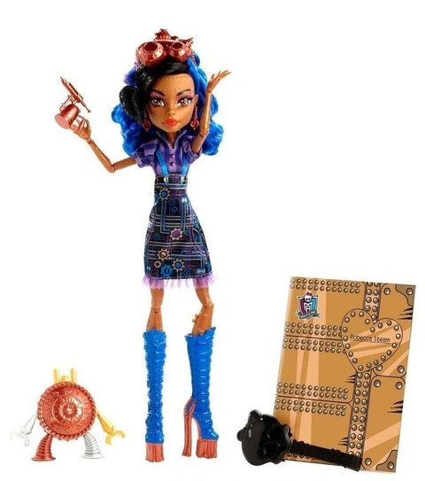 Robecca Steam Boneca Monster High Art Class 30 Cm