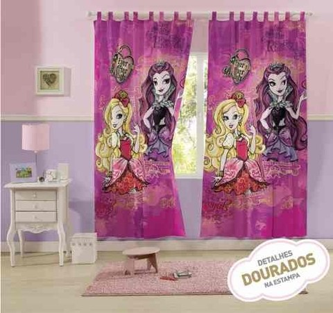 Cortina Para Varão Ever After High 3,00 X 2,20 Lepper