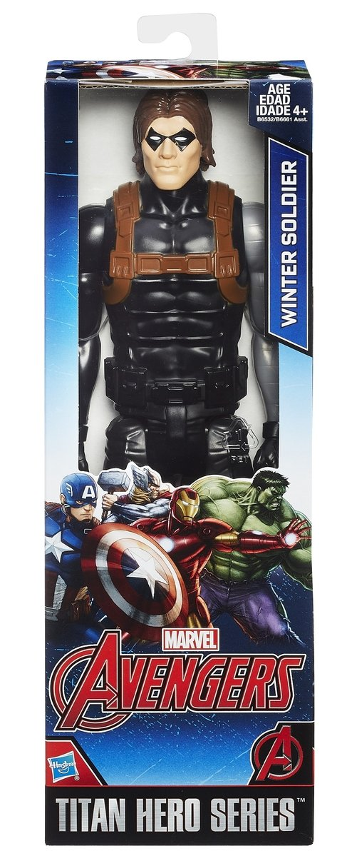 Boneco Marvel Titan Hero Series Winter Soldier Soldado Invernal 30 cm Original