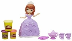 Massinha Play Doh Hora Do Chá Princesinha Sofia Disney Hasbro