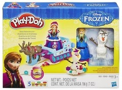 Massinha Play Doh Disney Trenó Frozen