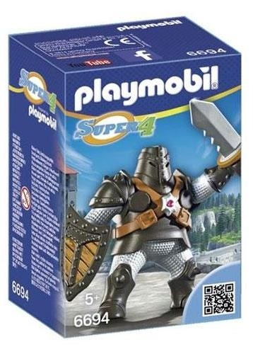 Playmobil 6694 Super 4 Colossus Negro