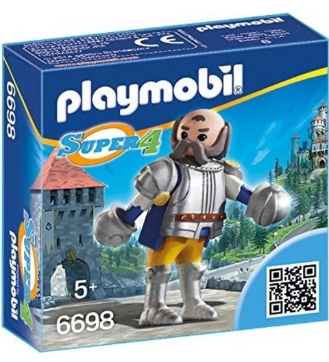Playmobil 6698 Super 4 Guardião Real Sir Ulf