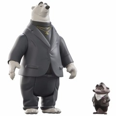 Zootopia Disney Personagens Mr. Big & Kevin