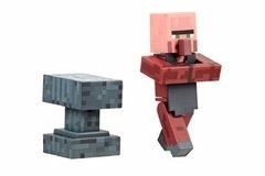 Minecraft Aldeão Ferreiro Blacksmith Series 2 Jazwares