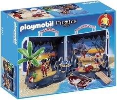 Playmobil Bau Do Tesouro Pirata Código 5347