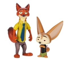 Zootopia Disney Personagens Nick & Finnick