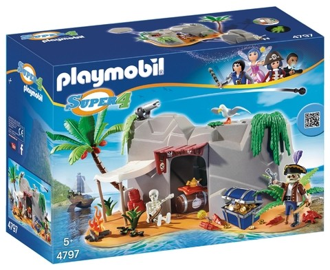 Playmobil 4797 Super 4 Caverna Pirata