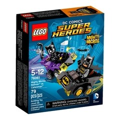 Lego 76061 Super Heroes Mighty Micros Batman Vs Mulher Gato