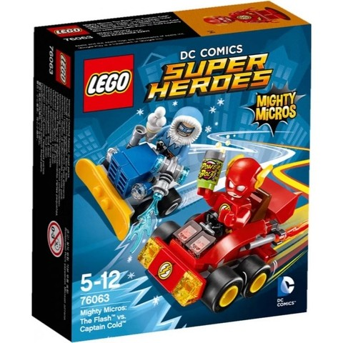 Lego 76063 Super Heroes Mighty Micros Flash Vs Capitão Frio