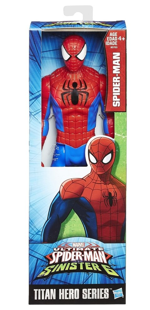 Boneco Marvel Titan Hero Series Spider Man Homen Aranha 30 cm