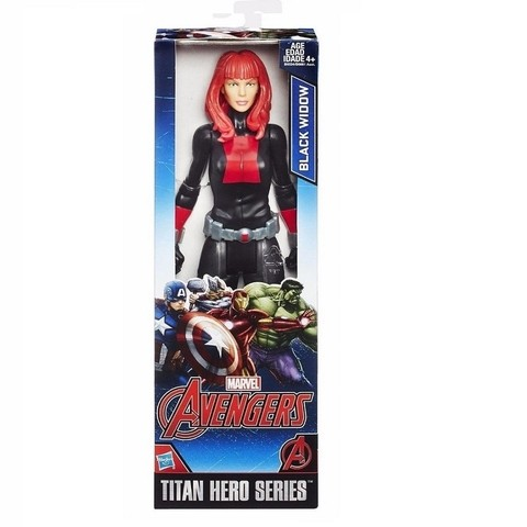 Boneco Viuva Negra Marvel Titan Hero Series 30 cm Black Widow