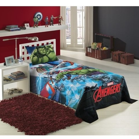 Jogo De Cama Infantil Avengers Os V......