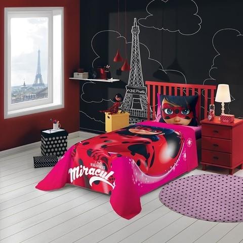 Jogo De Cama Infantil Ladybug Mirac......