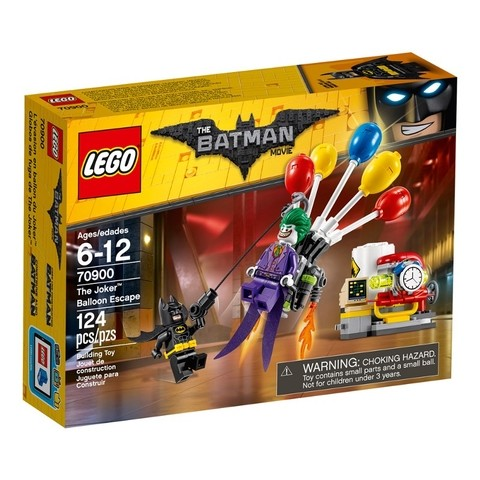 Lego 70900 The Batman Movie - A Fuga De Balão Do Coringa