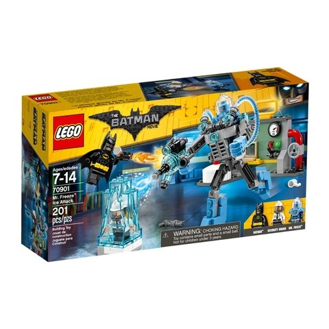 Lego 70901 The Batman Movie - O Ataque De Gelo Do Mr. Freeze