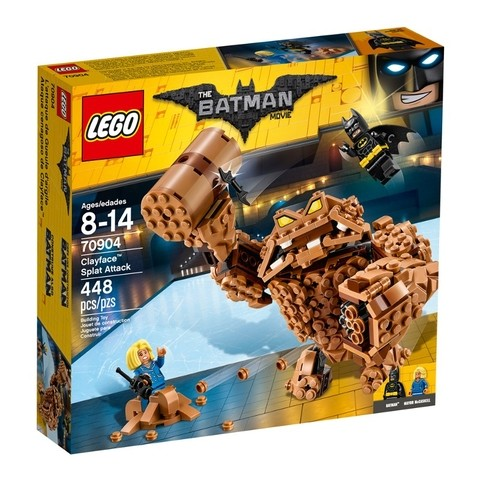 Lego 70904 The Batman Movie - O Ataque Do Cara De Barro