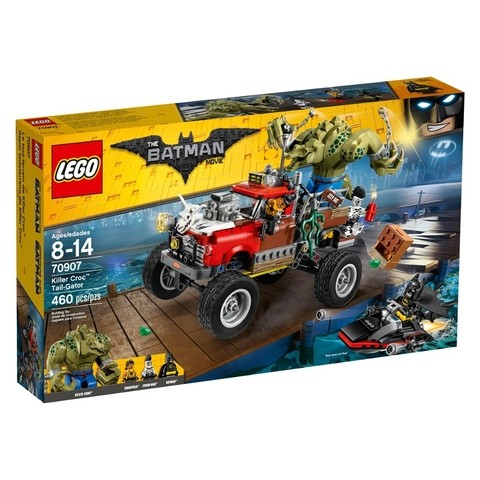 Lego 70907 The Batman Movie - Tail Gator Do Crocodilo