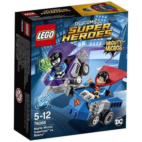 Lego 76068 Super Heroes Mighty Micros Super Homem Vs Bizarro