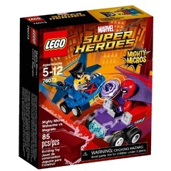 Lego 76073 Super Heroes Mighty Micros Wolverine Vs. Magneto