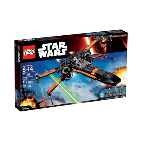 Lego Star Wars 75102 X- Wing Fighter Do Poe 717 Peças