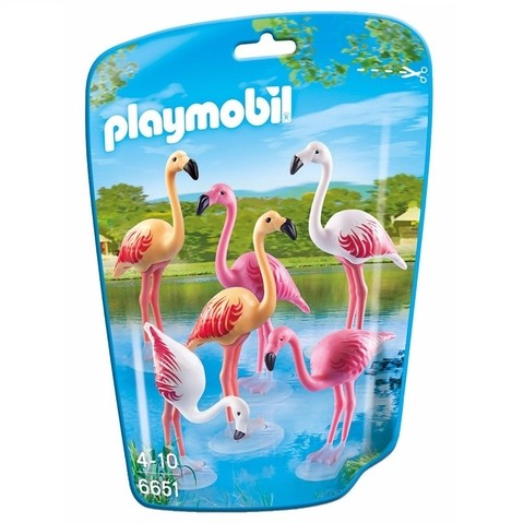 Playmobil 6651 Flamingo Animal De Zoológico