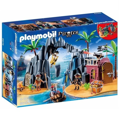 Playmobil 6679 Ilha Do Tesouro Dos Piratas