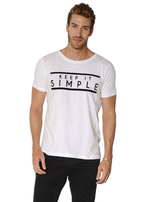 Camiseta Keep it Simple