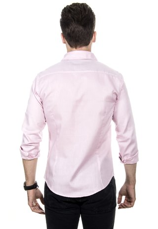 Camisa Masculina Light Pink - Red Feather Atacado