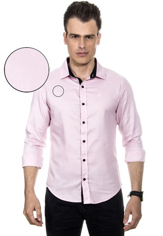 Camisa Masculina Light Pink