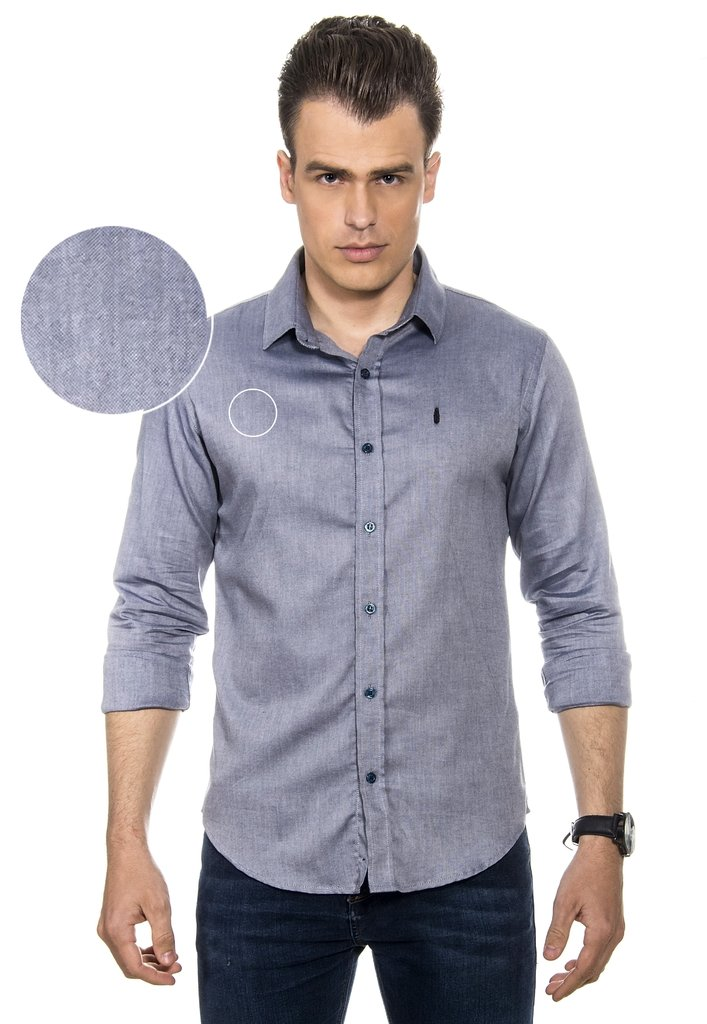 Camisa Masculina Blue Denim - Red Feather Atacado 7ac52820f53