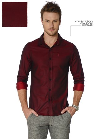 Camisa Lust Bordô