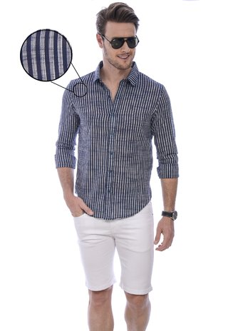Camisa masculina Stripes