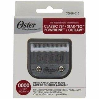 Cuchilla Oster 0000 Para Maquina Pelo Golden Titan 97-44 aa9be839e823