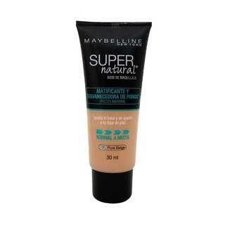 Base Matificante Maybelline Supernatural 235 Maquillaje