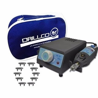 Torno Pedicuria Profesional Manicuria Drillco  + 10 Discos