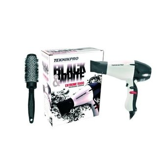 Secador Pelo Profesional Teknikpro + Cepillo Brushing b75b4336d9b2