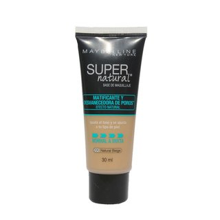 Base Matificante Maybelline Supernatural 220 Maquillaje