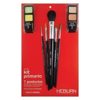 Kit Primario Heburn Profesional Make Up 7 Productos