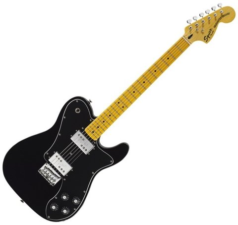 Squier 030-1265-506 - Telecaster Deluxe Vintage Modified Black