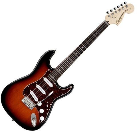 Squier 032-1600-537 - Stratocaster Standard Antique Burst