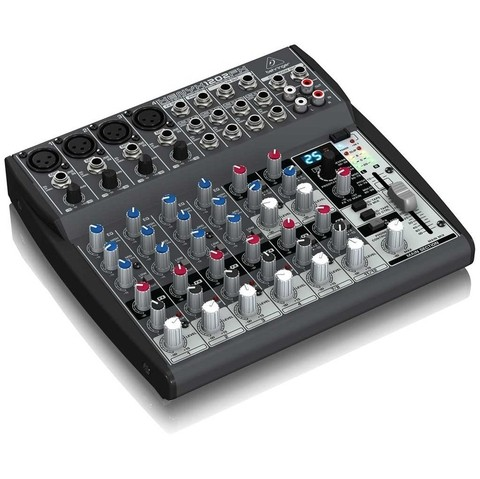 Behringer Xenyx 1202fx - 4 Canales Mono / 4 Stereo + Fx