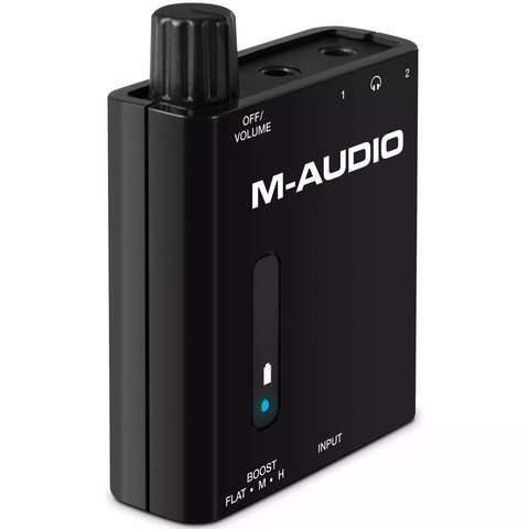 M-Audio Bass Traveller - Amplificador de Auriculares