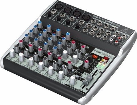 Behringer Xenyx Qx1202usb - 4 Canales Mono / 4 Stereo