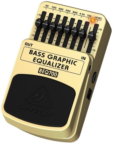 Behringer Beq700 Bass Graphic Equalizer - Pedal Eq Para Bajo